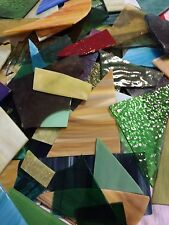 Stained Glass Scraps 10 lbs Supplies Mosaics Bulk