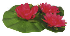 Water Lillies - Pink Floating Artificial - AquaPro