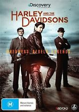 HARLEY AND THE DAVIDSONS DVD, BRAND NEW, REGION 4, 2017 RELEASE, FREE POST.