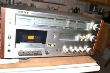 SONY UIB HST-49 AM-FM STEREO CASSETTE RECORDER RECEIVER pro serviced