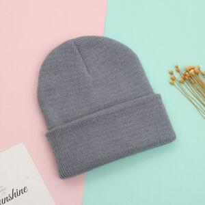New Unisex Baby Cap Beanie Boy Girl Toddler Infant Cotton Knit Soft Cute Hat