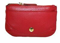 Graffiti/Golunski Leather Medium zip top  Coin Purse Style 75151 Colour Red new