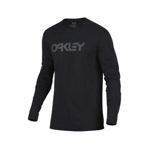 genuine OAKLEY LONG SLEEVE TEE SHIRT (BLACK)