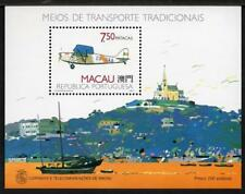 MACAO MNH 1989 MS706 Aircraft Minisheet