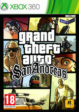 Grand Theft Auto GTA San Andreas (UK IMPORT) XBOX 360 TAKE TWO INTERACTIVE