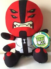 Ben 10 Cartoon Network Plush 11''. Licensed Toy. NWT. Four Arms. Stuffed Animal.