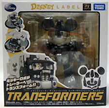 Transformers Disney Label Mickey Mouse Trailer Mono Tone