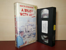 A Brush With Art - Alwyn Crawshaw - Video 2 - PAL VHS Video Tape (H152)