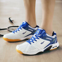 Unisex Badminton Running Shoes Light Athletic Anti-slip Trainers Racket Sneakers