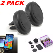 2 Magnet Car Dash Universal Air Vent Cell Phone Holder Mount For Samsung Iphone