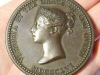 1890 ALBERT OPPENHEIMER Victoria Science & Art Dept Bronze WYON Medal #Q9