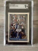 1992 Topps Shaquille O'Neal Orlando Magic Rookie RC #362 HOF SGC 9 (Not PSA)