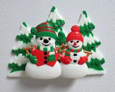 DecoPac Snowmen & Snow-women Christmas Magnet or Cake topper
