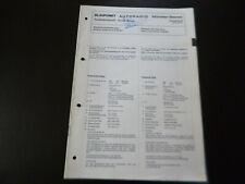 Original Service Manual Schaltplan Blaupunkt Münster Stereo