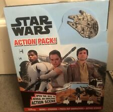 STAR WARS ACTION PACK BOOKS STICKERS PRESS-OUT CHARACTERS ACTION SCENES New