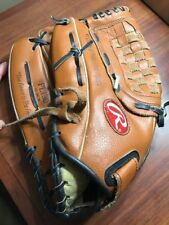 Rawlings PL130 13 Inch Baseball Glove Leather Palm LHT Player Series