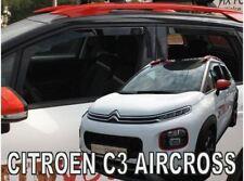 4 Deflettori Aria Antiturbo per Citroen C3 AirCross 2017 in poi 5 porte