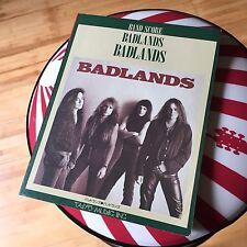 BADLANDS / Japan Band Score Guitar Tab / Jake E.Lee / Ozzy Osbourne