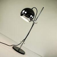 Tisch Lampe Chromkugel Spot Strahler Lese Leuchte Vintage 60er 70er Jahre
