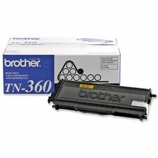Genuine Brother TN360 Black Toner Cartridge -2600 Page for DCP-7030, DCP-7040