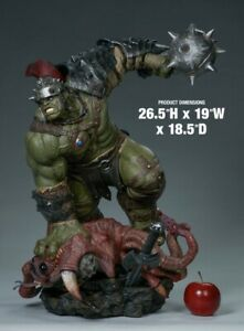 sideshow collectibles gladiator hulk maquette Exclusive