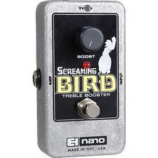 Electro Harmonix Screaming Bird Treble Booster - Guitar Effect Pedal