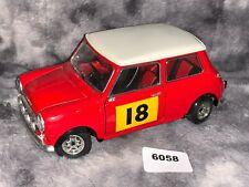 XRARE!! Solido Red Mini Cooper 1/16 #18  (6058)