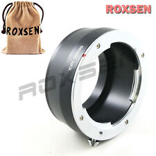Roxsen Sigma SA SD mount lens to Sony E mount NEX adapter NEX-5T 7 A7 A7S VG900
