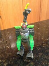 2011 Bakugan McDonalds Happy Meal Toy - Braxion #6 - GREEN