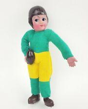 Vintage NOS Celluloid & Felt Football Player Figure Doll