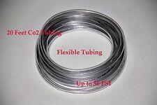 20' co2 resistant flexible tubing - hose 50psi fish plant shrimp co2 regulator