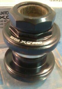 "Suntour WTB XC-Pro Grease Guard 1-1/8"" Headset NEW / NOS- Vintage-Threaded- Mint"