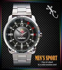 Saab Scania v8 Streamline Mens Watch Stainless Steel Watch