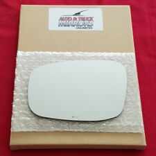 Mirror Glass + Adhesive For Infiniti G37, Q40, G25 Driver Side Replacement