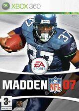 MADDEN NFL 07            -----   pour X-BOX 360  // PN