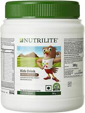 Amway Nutrilite Kids Drink Chocolate Flavour For Nutritious Protein 500-Gm