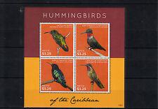 Nevis 2013 MNH Hummingbirds of Caribbean 4v M/S Carib Antillean Mango Birds