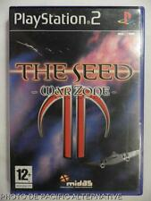 COMPLET jeu THE SEED WAR ZONE playstation 2 sony PS2 avions vaisseaux futur tir