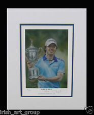 Rory McIlroy/N Irish Golf/Numbered Ltd Edition Print Signed by Doig/US Open/New