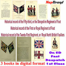 Historical record of the 53rd Foot,1st Foot or Royal Regiment of Foot, & 21st Ft