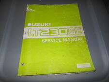 Factory OEM Suzuki 1985 LT230GE F Service Manual 11chpt