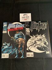 MOON KNIGHT (1993) #59 #60 1st prints FINAL ISSUE STEPHEN PLATT Marvel Comics