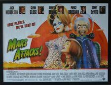 MARS ATTACKS (1996) - Original Movie Poster -  UK Quad