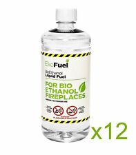 Bioethanol Fuel 12l Next Day Delivery Premium Grade Quality Clean Burn
