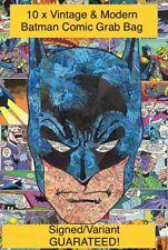 🔥Lot x 10 BATMAN COMIC BOOK Grab Bag incl SIGNED VARIANT GUARANTEED VF🔥