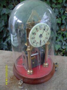 MANTEL  CLOCK ANNIVERSARY  CLOCK VINTAGE WORKS BY MAGNET