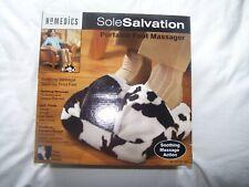 Homedics Foot Massager NIB Cow Print Portable