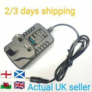 TO FIT MAKITA BMR100 BMR101W SITE RADIO POWER CHARGER ADAPTER PLUG 12V AC UK