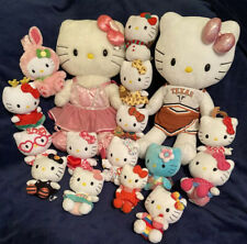 HELLO KITTY Sanrio Ty BAB, Plush, Toy, HUGE Lot Of 17 Plush Toys