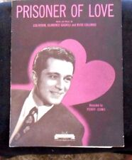 Prisoner Of Love 1931 Sheet Music as recorded by Perry Como  Piano Voice Ukulele